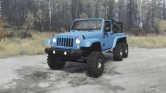 Jeep Wrangler (JK) 6x6 turbo pour MudRunner