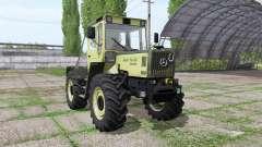 Mercedes-Benz Trac 1000 pour Farming Simulator 2017
