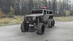 Jeep Wrangler Unlimited 6x6 (JK) crawler
