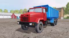 Kraz 6130С4 1997 pour Farming Simulator 2015