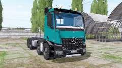 Mercedes-Benz Arocs 2013 hooklift für Farming Simulator 2017