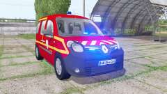 Renault Kangoo Extrem 2013 Sapeurs-Pompiers für Farming Simulator 2017