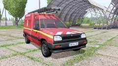 Renault Express Sapeurs-Pompiers für Farming Simulator 2017