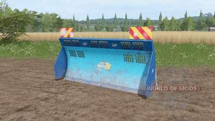 Aldo Annovi silage shield v1.1 pour Farming Simulator 2017