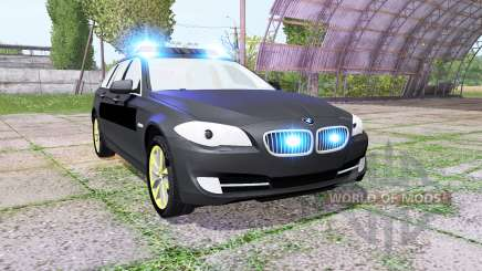 BMW 530d Touring (F11) undercover police pour Farming Simulator 2017
