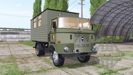 IFA W50 L leutewagen pour Farming Simulator 2017