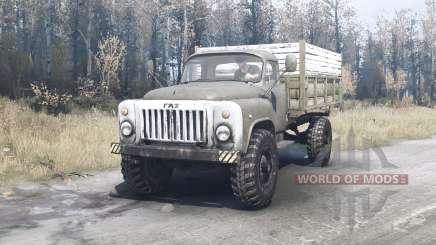 GAZ 53 4x4 für MudRunner