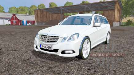 Mercedes-Benz E 350 CDI Estate (S212) 2009 für Farming Simulator 2015