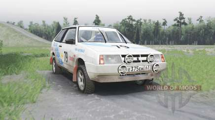 VAZ 2108 rallye pour Spin Tires