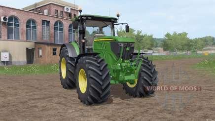 John Deere 6215R v3.2 für Farming Simulator 2017