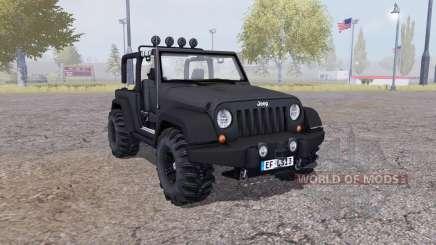Jeep Wrangler (JK) v2.1 für Farming Simulator 2013