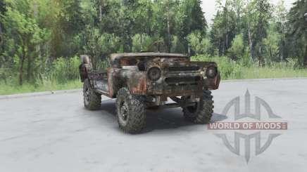 Rostigen UAZ 469 v1.2 für Spin Tires