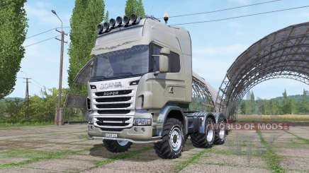 Scania R730 v1.0.3 pour Farming Simulator 2017