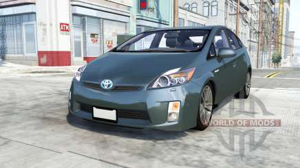Toyota Prius (XW30) 2009 pour BeamNG Drive