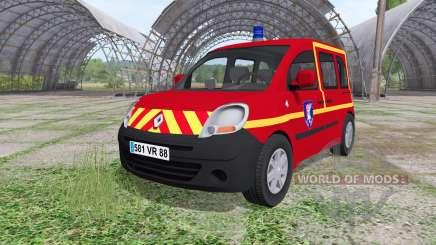 Renault Kangoo Sapeurs Pompier für Farming Simulator 2017