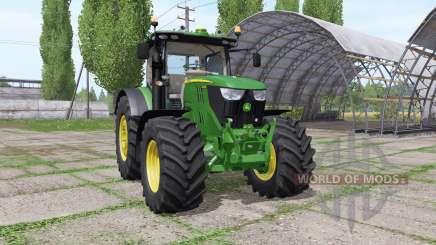 John Deere 6145R v2.7 für Farming Simulator 2017