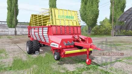 POTTINGER EUROBOSS 330 T twin tires v1.5 pour Farming Simulator 2017