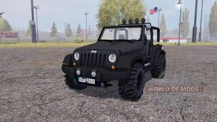 Jeep Wrangler (JK) v2.2 für Farming Simulator 2013