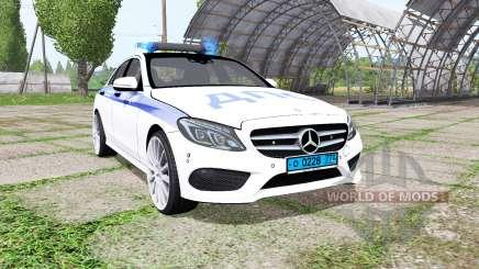 Mercedes-Benz C 250 AMG (W205) ДПС pour Farming Simulator 2017