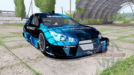 Chevrolet Impala SS NASCAR Ravenwest Blue für Farming Simulator 2017