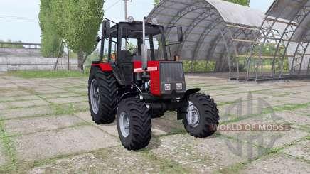 MTZ-820 v1.1 pour Farming Simulator 2017