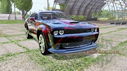 Dodge Challenger SRT Hellcat (LC) Red Neon für Farming Simulator 2017