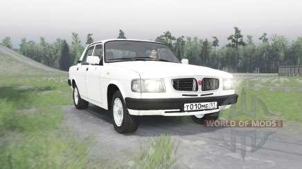 GAZ Volga 3110 v1.1 pour Spin Tires