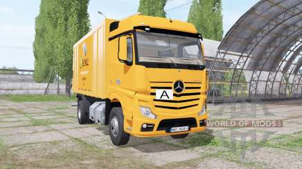 Mercedes-Benz Actros (MP4) garbage truck pour Farming Simulator 2017