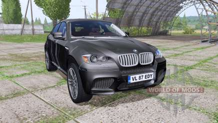 BMW X6 M (E71) Black Spike pour Farming Simulator 2017