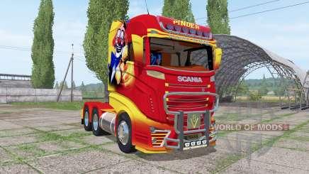 Scania R1000 Pinder für Farming Simulator 2017