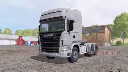 Scania R730 Topline cab für Farming Simulator 2015