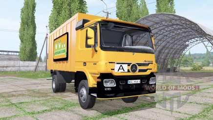 Mercedes-Benz Actros 1836 (MP2) garbage truck für Farming Simulator 2017