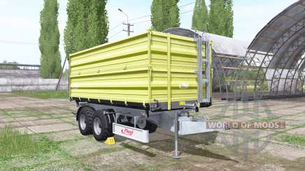 Fliegl TDK 255 light green pour Farming Simulator 2017