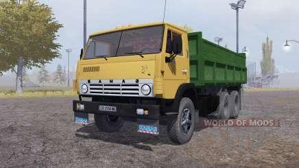 KamAZ 55102 v1.Un pour Farming Simulator 2013