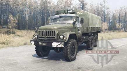 ZIL 131 Chernobyl für MudRunner