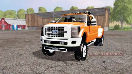 Ford F-450 Super Duty Platinum Crew Cab 2013 pour Farming Simulator 2015