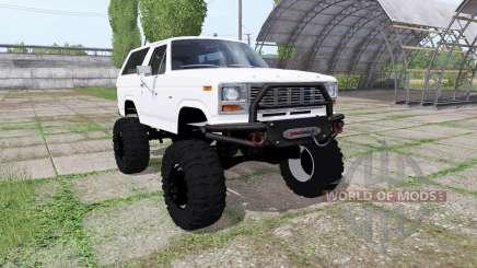 Ford Bronco XLT (U150) 1981 pour Farming Simulator 2017