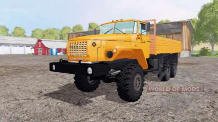 Oural 5557-1112-72M pour Farming Simulator 2015