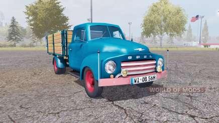 Opel Blitz v1.1.2 pour Farming Simulator 2013