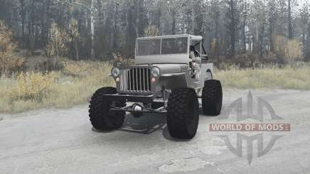 Willys MB off-road v1.1 pour MudRunner