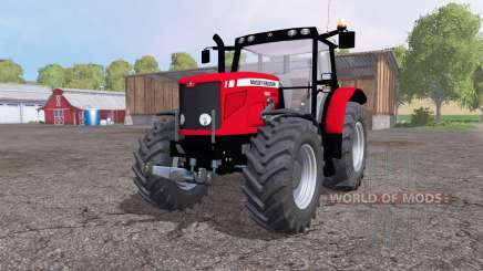 Massey Ferguson 6480 front loader pour Farming Simulator 2015