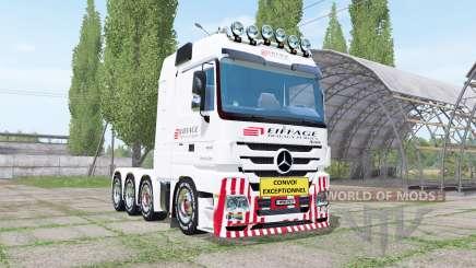 Mercedes-Benz Actros 4160 SLT (MP3) für Farming Simulator 2017