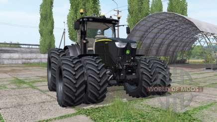 John Deere 6250R black v2.4 pour Farming Simulator 2017