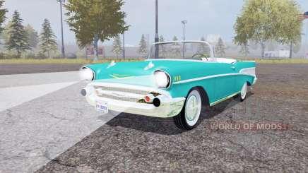 Chevrolet Bel Air convertible (2434-1067D) 1957 pour Farming Simulator 2013