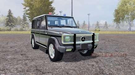 Mercedes-Benz G500 (W463) Unmarked Police für Farming Simulator 2013