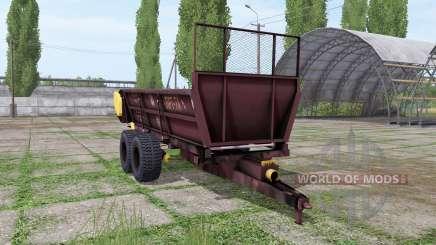 PRT 7A pour Farming Simulator 2017