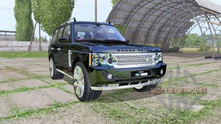 Land Rover Range Rover Supercharged (L322) 2009 pour Farming Simulator 2017
