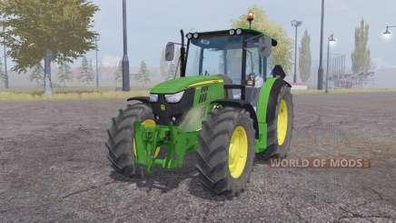 John Deere 6110RC pour Farming Simulator 2013