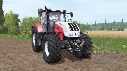 Steyr 6225 CVT pour Farming Simulator 2017