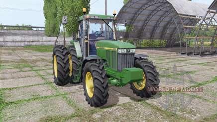 John Deere 7410 pour Farming Simulator 2017